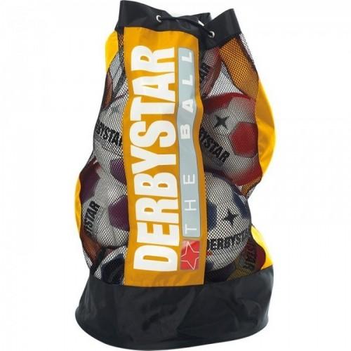 Derbystar Ballsack 10 Bälle gelb