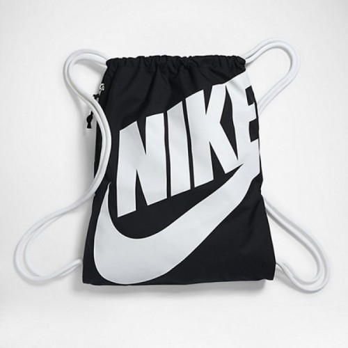 Nike Turnbeutel Heritage schwarz/weiß