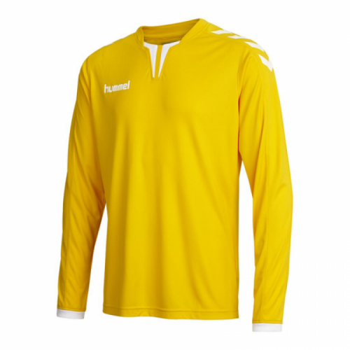 Hummel Langarm-Trikot Core ls Poly Jersey gelb