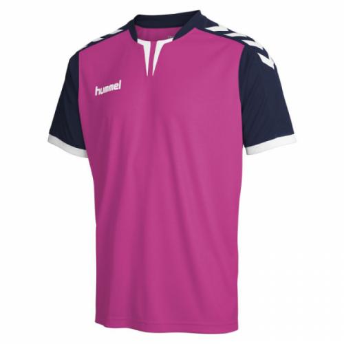 Hummel Trikot Core ss Poly Jersey rosa-violett/marine