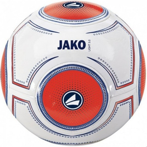 Jako Fussball Light 3.0 290g weiß/orange/dunkelblau