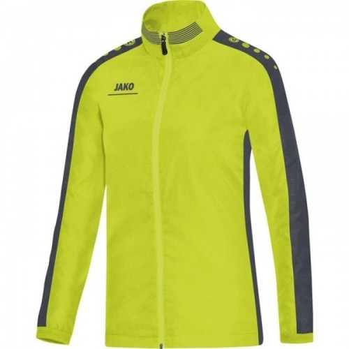 Jako Präsentationsjacke Striker für Damen lime/anthrazit