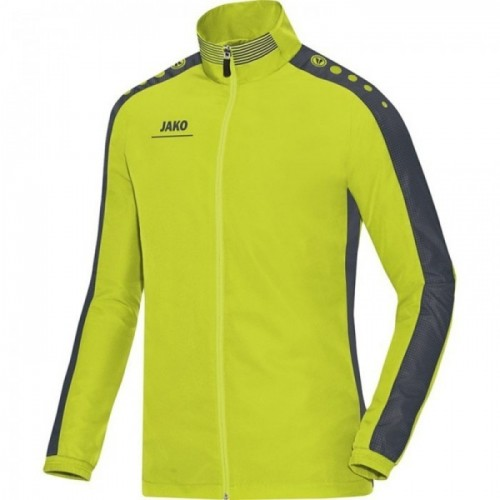 Jako Präsentationsjacke Striker lime/anthrazit