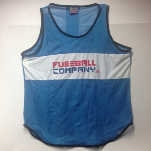 Fussballcompany.de-Trainings-Leibchen 10er Set blau