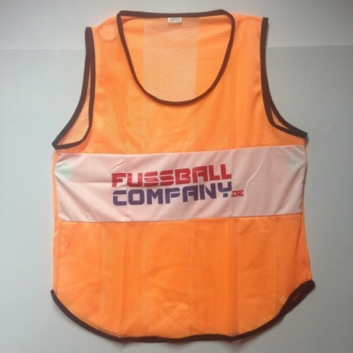 Fussballcompany.de-Trainings-Leibchen 10er Set orange