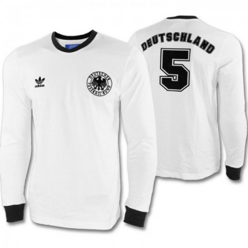 Adidas DFB Langarm-Shirt weiß