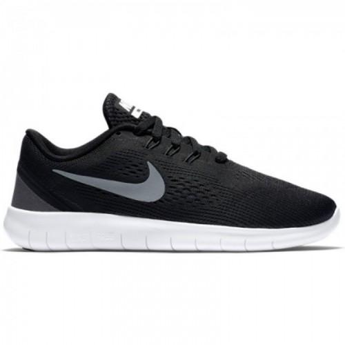 Nike Free RN (GS) Kinder schwarz/anthrazit