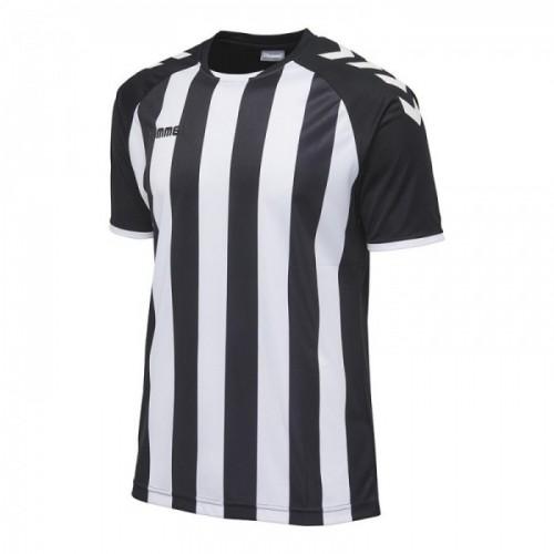 Hummel Core Striped ss Jersey schwarz/weiß