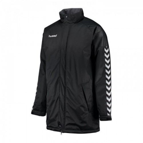Hummel Authentic Charge Stadion Jacke Kinder schwarz