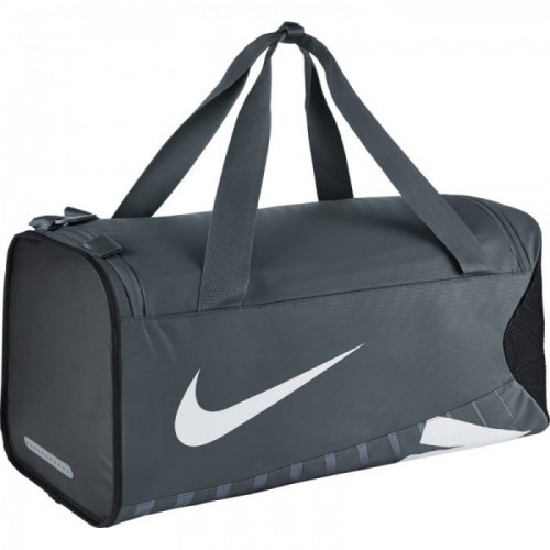 Nike Sporttasche Alpha Adapt Crossbody Medium schwarz/grau