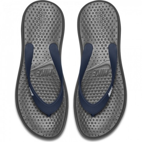 Nike Zehentreter Solay Thong navy/weiß