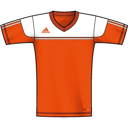 Adidas Kinder-Trikot Autheno 12 orange/weiß