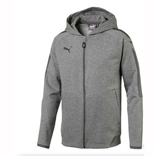 Puma Kaputzensweatshirt Ascension Casuals Hoody grau