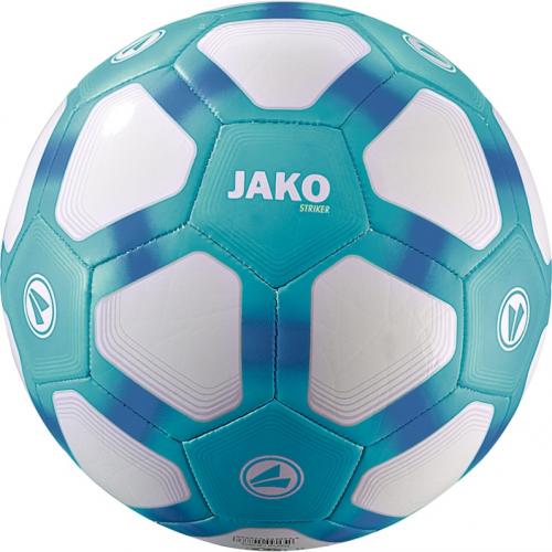 Jako Fussball Striker Lightball weiß/aqua/Jako-blau 350g