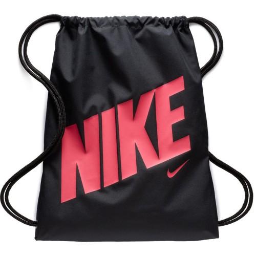 Nike Turnbeutel Graphic Gym Sack für Kinder schwarz/rot
