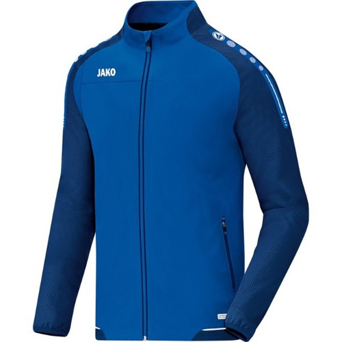 Jako presentation jacket Champ soft royal/marine