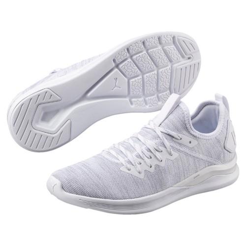 Puma leisure shoes Ignite Flash evoKnit white/lightgray