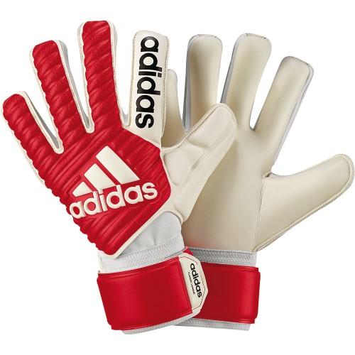 Adidas Torwarthandschuhe Classic League rot/weiß