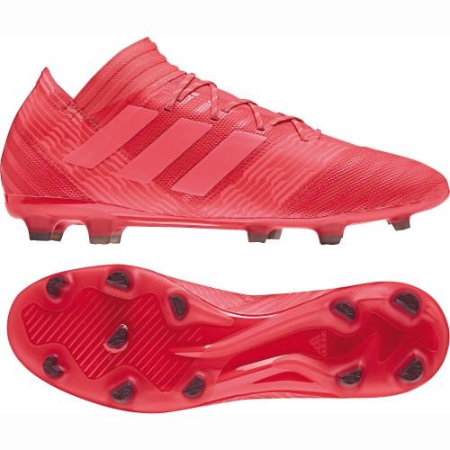 Adidas soccer shoes Nemeziz 17.2 FG red