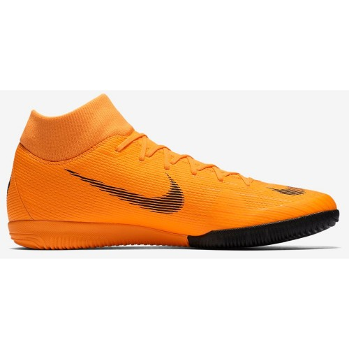 Nike Hallen-Fussballschuhe MercurialX Superfly VI Academy IC orange