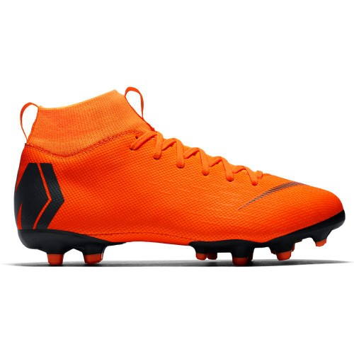 Nike Fussballschuhe Jr. Superfly 6 Academy MG Kinder orange/schwarz