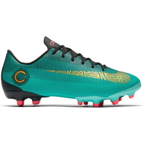 Nike Fussballschuhe CR7 Jr. Vapor 12 Academy MG Kinder türkis/schwarz/gold