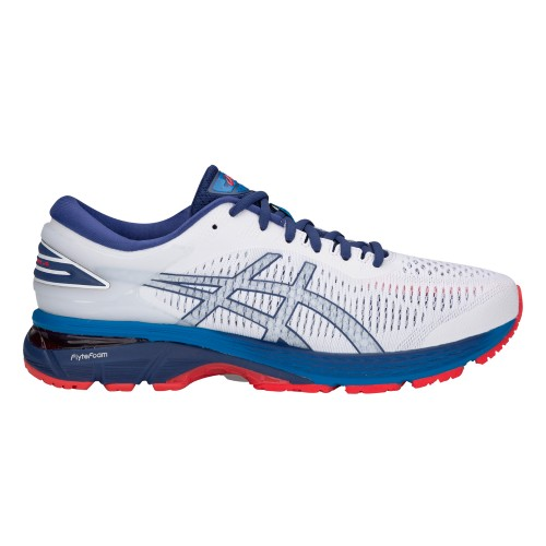 Asics Running Shoes Gel-Kayano 25 white/blue/red