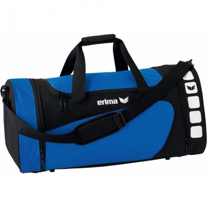 Erima Sporttasche Club 5 Line new royal/schwarz medium