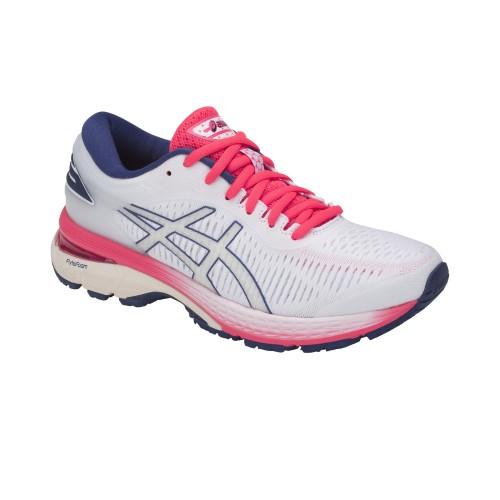 Asics Laufschuhe Gel-Kayano 25 Damen weiß/pink/blau