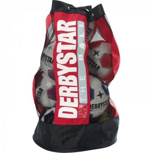 Derbystar Ballsack 10 Bälle rot