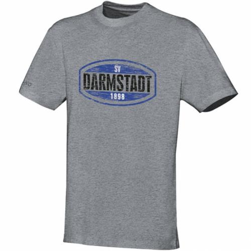 """Jako T-Shirt SV Darmstadt 98 """"SV98"""" grau meliert"""