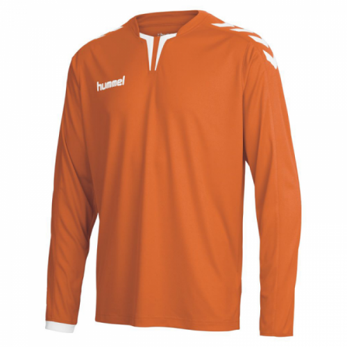 Hummel Langarm-Trikot Core ls Poly Jersey orange