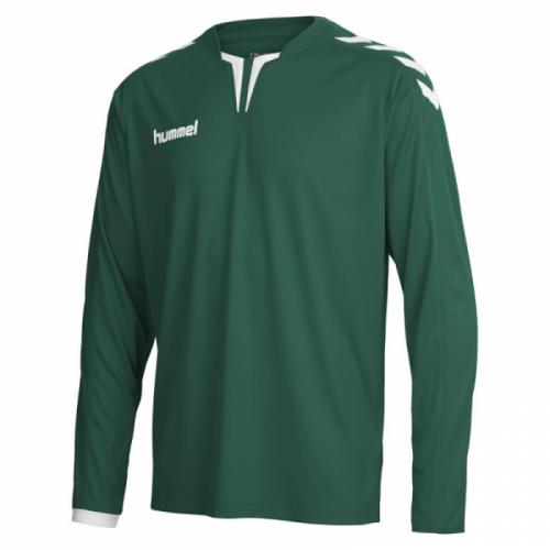 Hummel Langarm-Trikot Core ls Poly Jersey dunkelgrün