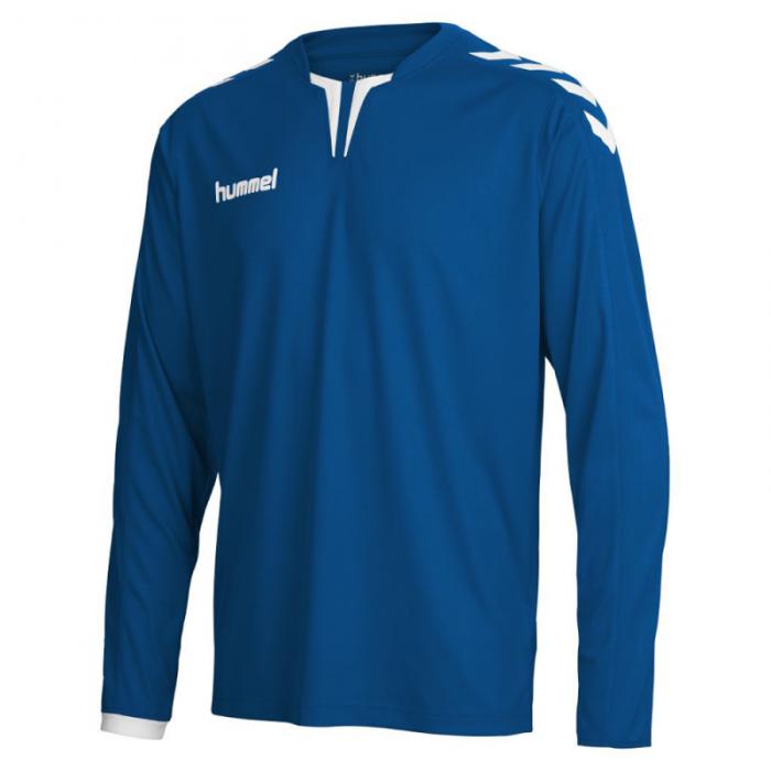Hummel Langarm-Trikot Core ls Poly Jersey dunkelblau