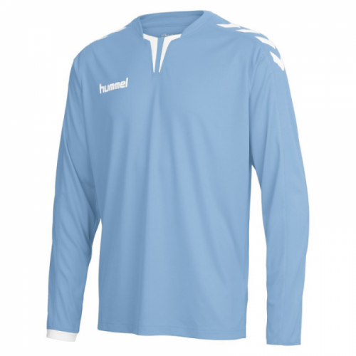 Hummel Langarm-Trikot Core ls Poly Jersey für Kinder hellblau