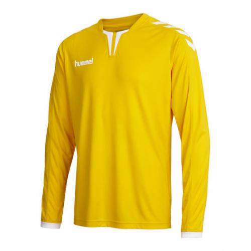 Hummel Langarm-Trikot Core ls Poly Jersey für Kinder gelb