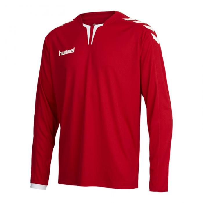 Hummel Langarm-Trikot Core ls Poly Jersey für Kinder rot
