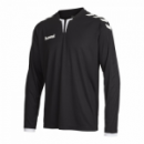 Hummel Langarm-Trikot Core ls Poly Jersey für Kinder schwarz