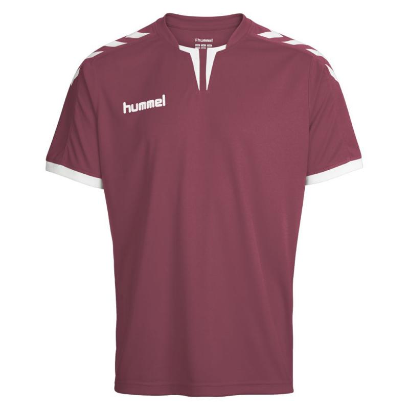 Maroon M 03-636-3055 Hummel Herren Trikot Core Short Sleeve Poly Jersey