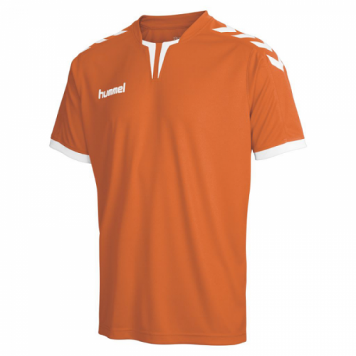 Hummel Trikot Core ss Poly Jersey für Kinder orange