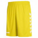 Hummel Core Poly Shorts gelb