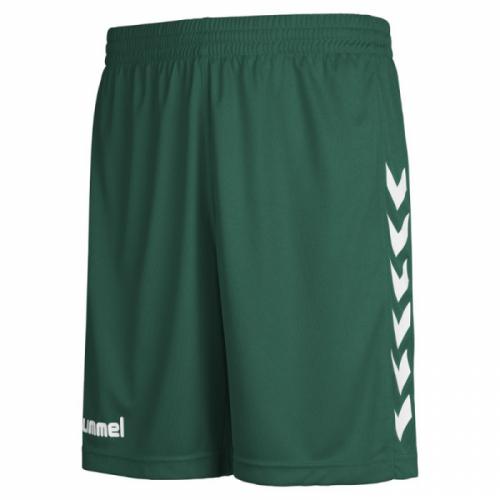 Hummel Core Poly Shorts dunkelgrün