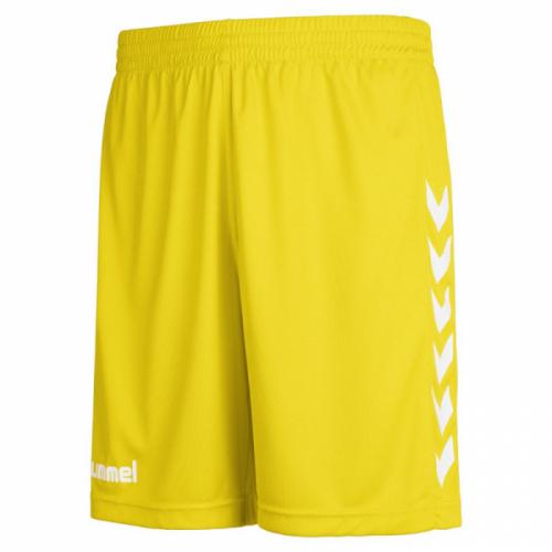 Hummel Core Poly Shorts für Kinder gelb