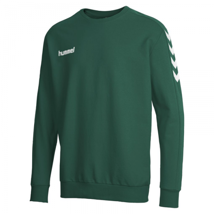 Hummel Core Cotten Sweat dunkelgrün