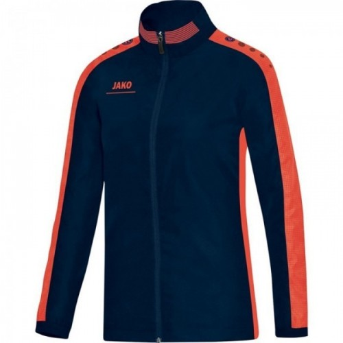Jako Präsentationsjacke Striker für Damen marine/orange