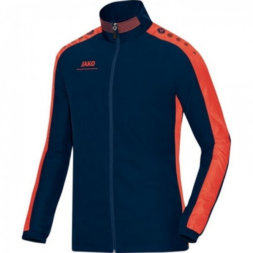 Jako Präsentationsjacke Striker marine/orange