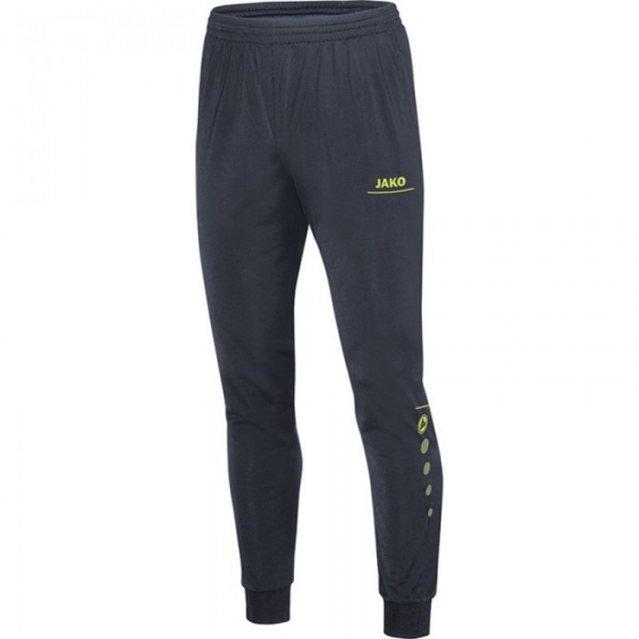 Jako Polyesterhose Striker für Kinder anthrazit/lime