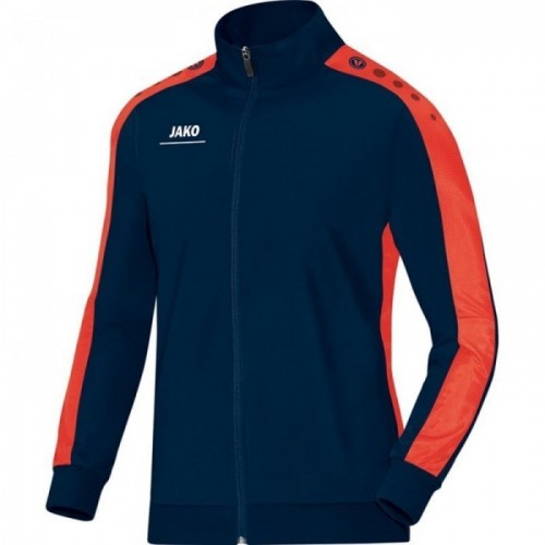 Jako Polyesterjacke Striker für Kinder marine/orange