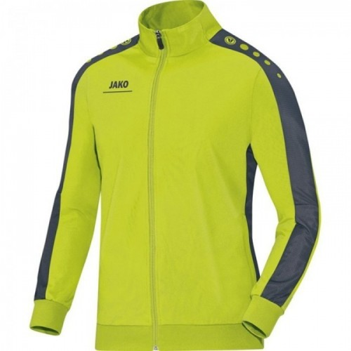Jako Polyesterjacke Striker für Kinder lime/anthrazit