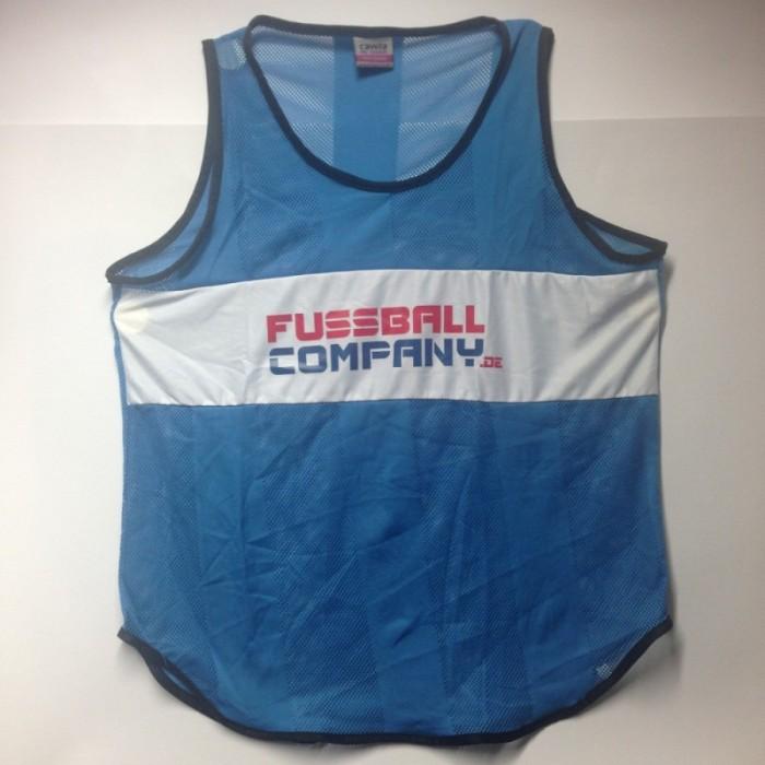 Fussballcompany.de-Trainings-Leibchen 10er Set blau